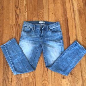 Madewell cropped skinny jean